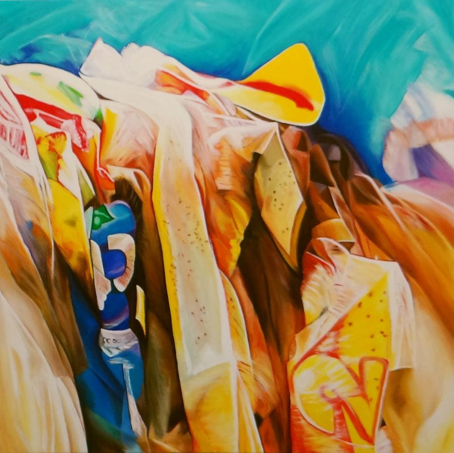 Kunst: Number Two van kunstenaar Ella Joosten