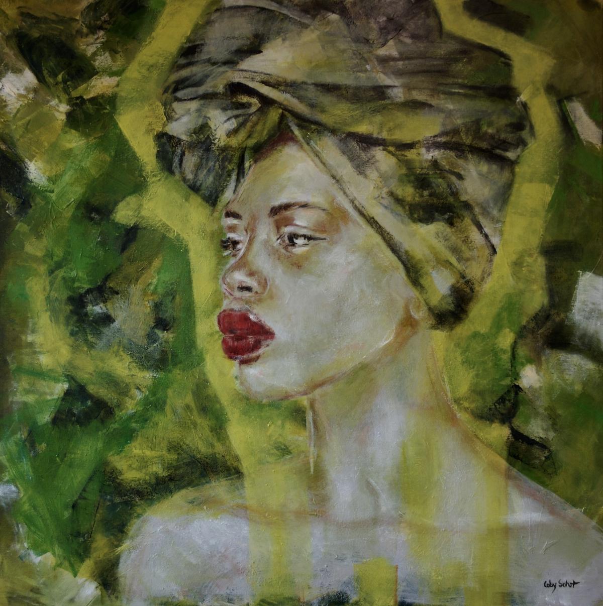 Kunst: 'Oba' van kunstenaar Coby Schot