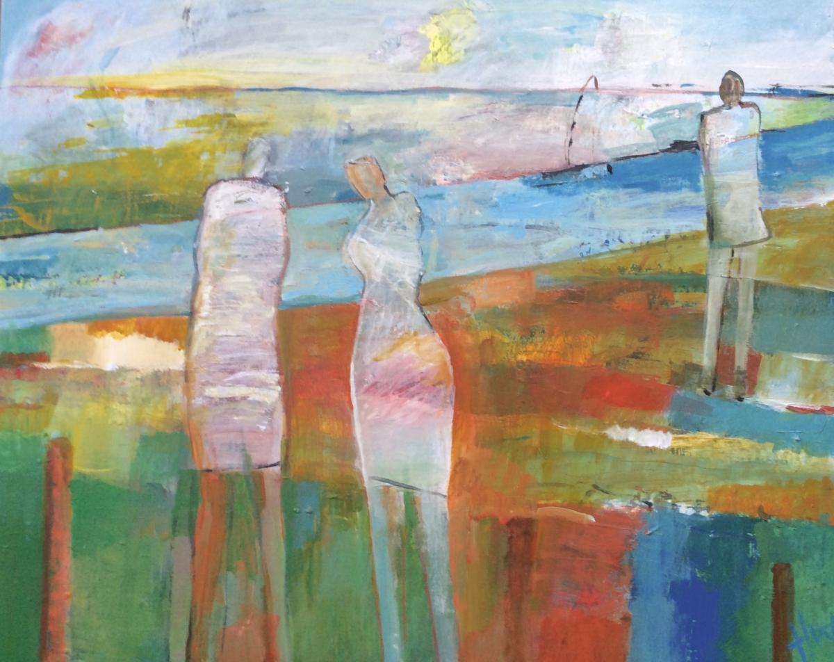 Kunst: oevers van kunstenaar Heleen Wilke