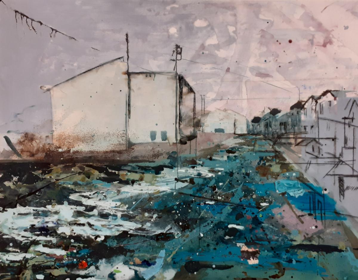 Kunst: On the way back van kunstenaar Anneke Koster