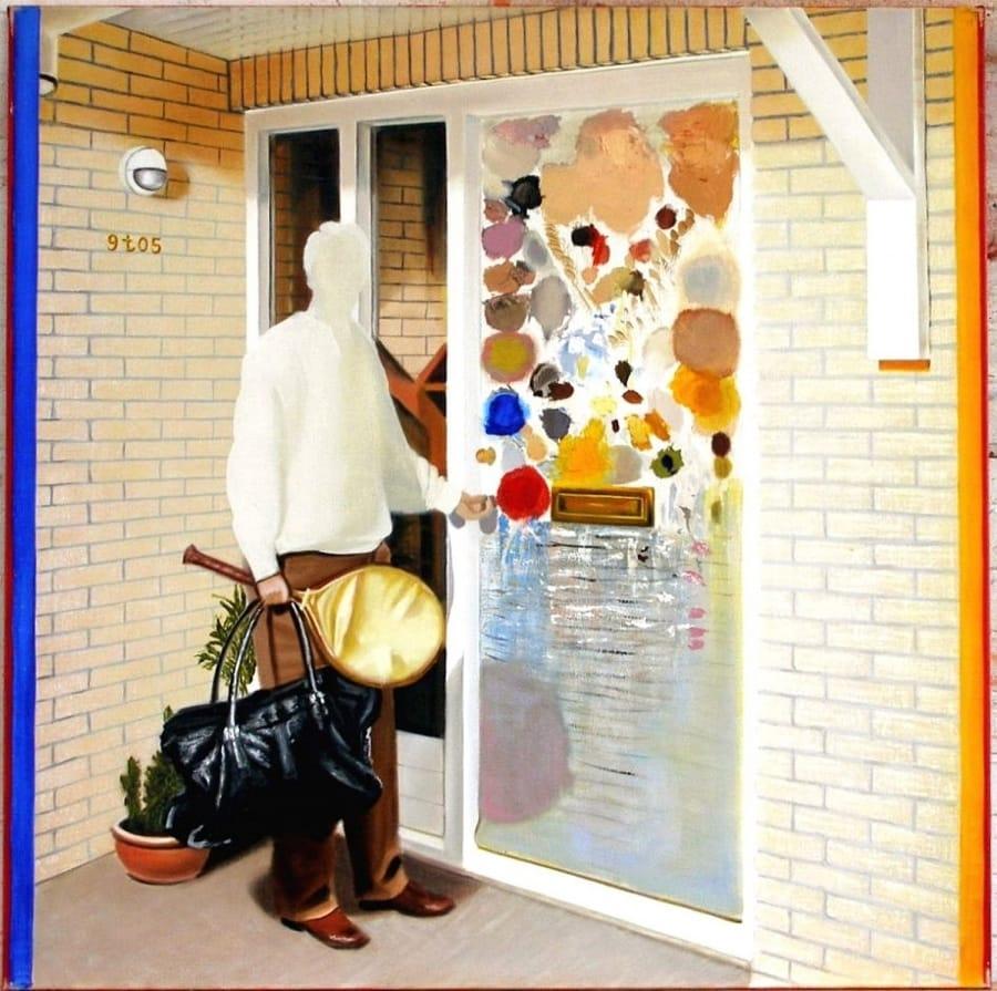 Kunst: oost west, thuis best van kunstenaar Leo Wijnhoven