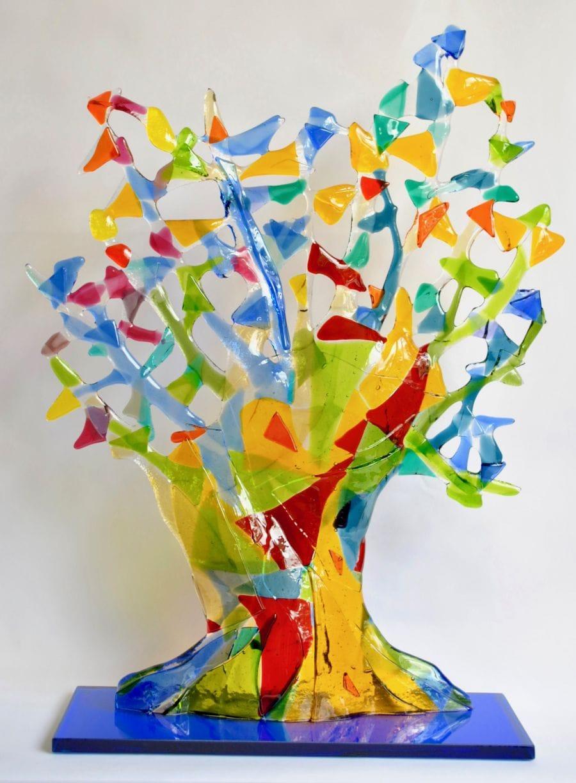 Kunst: Open Knotwilg van kunstenaar Angenelle Thijssen