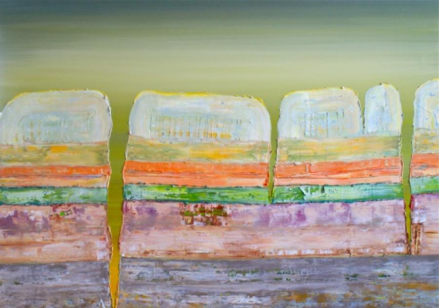 Kunst: Opperlaag III van kunstenaar Els Vegter