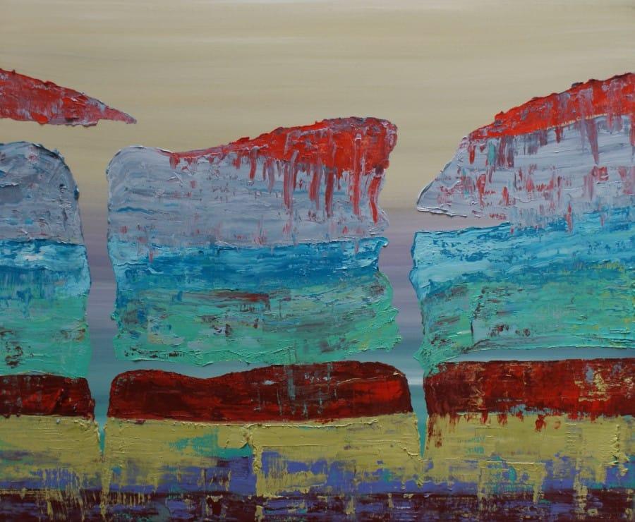 Kunst: Opperlaag V van kunstenaar Els Vegter
