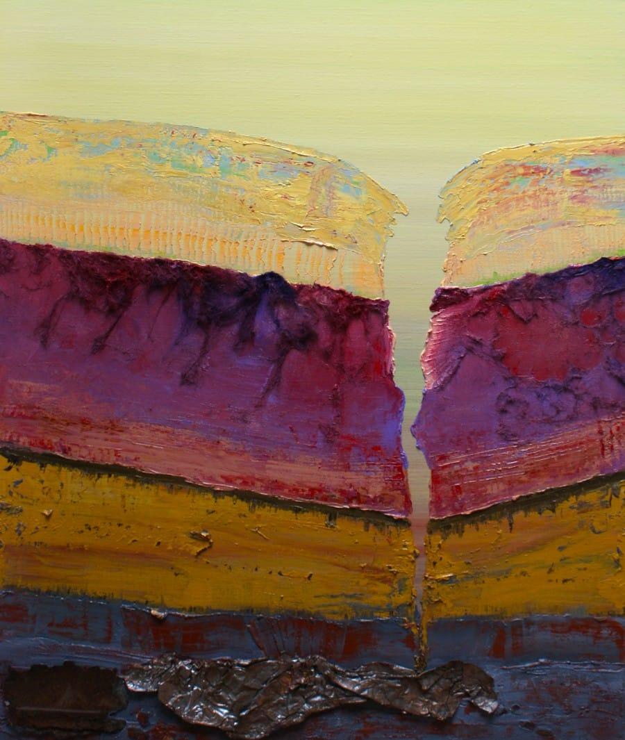 Kunst: Opperlaag VI van kunstenaar Els Vegter