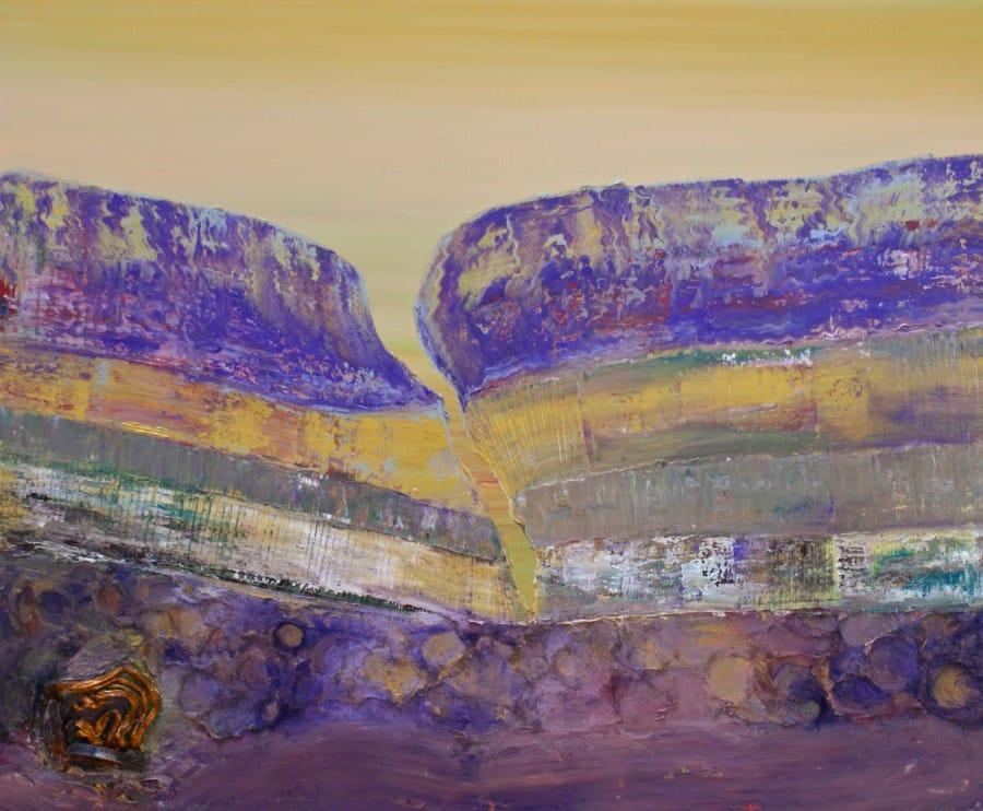 Kunst: Opperlaag VII van kunstenaar Els Vegter