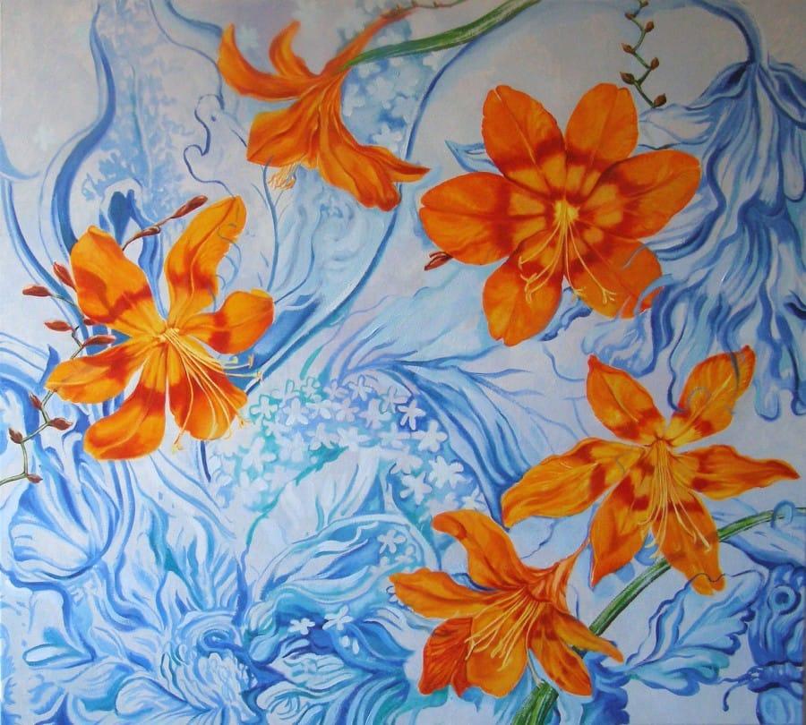 Kunst: Oranje boven van kunstenaar Sanneke S.I. Griepink