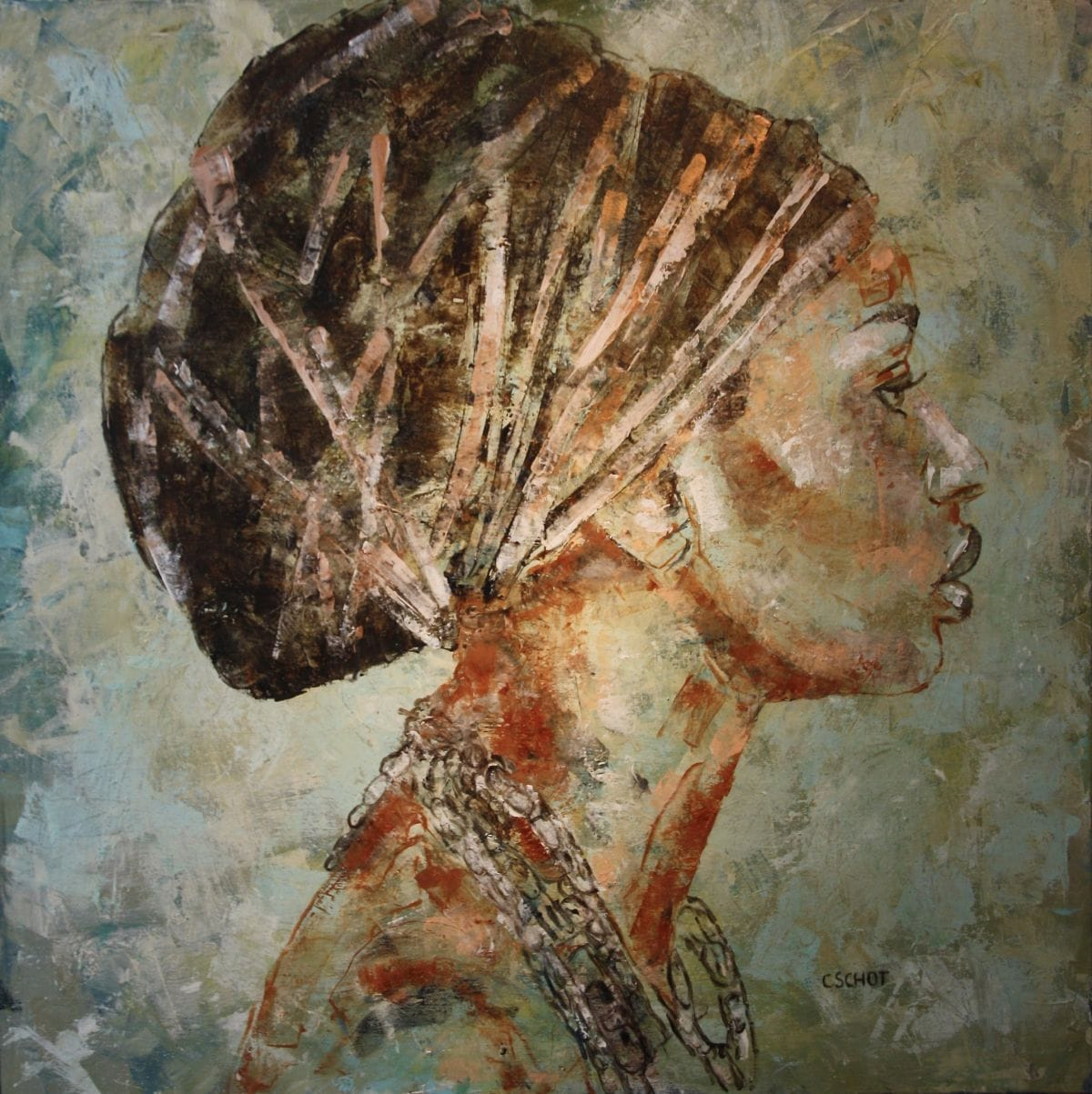 Kunst: 'Oshun' van kunstenaar Coby Schot