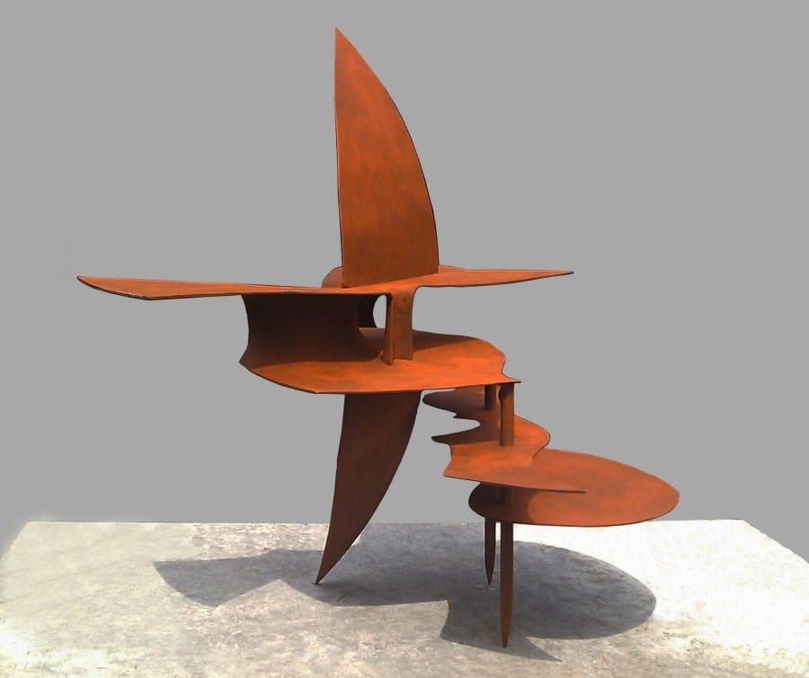 Kunst: Ovalen mijmering van kunstenaar Frans Muhren