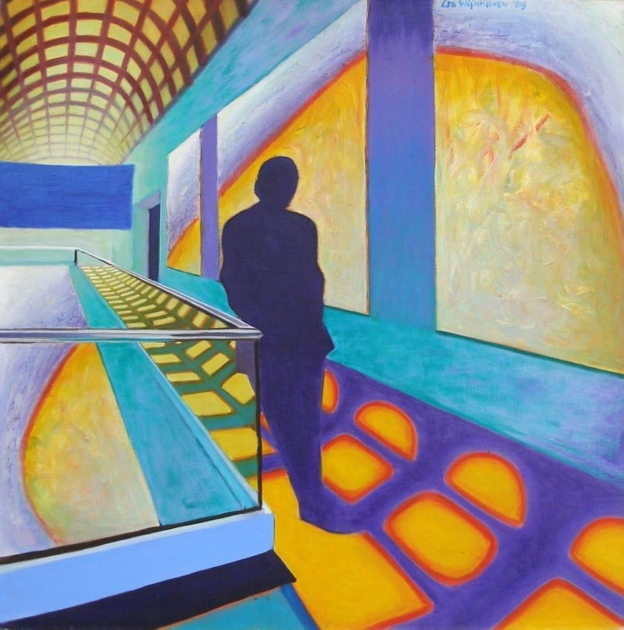 Kunst: painting II van kunstenaar Leo Wijnhoven