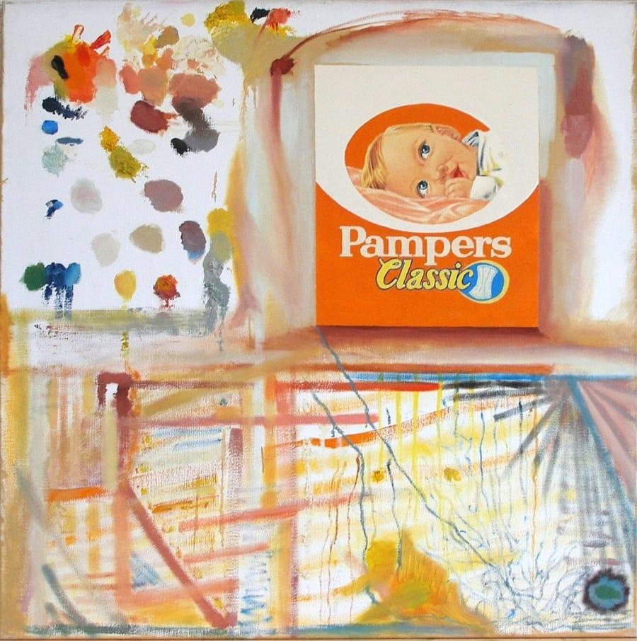 Kunst: pampers,classic van kunstenaar Leo Wijnhoven
