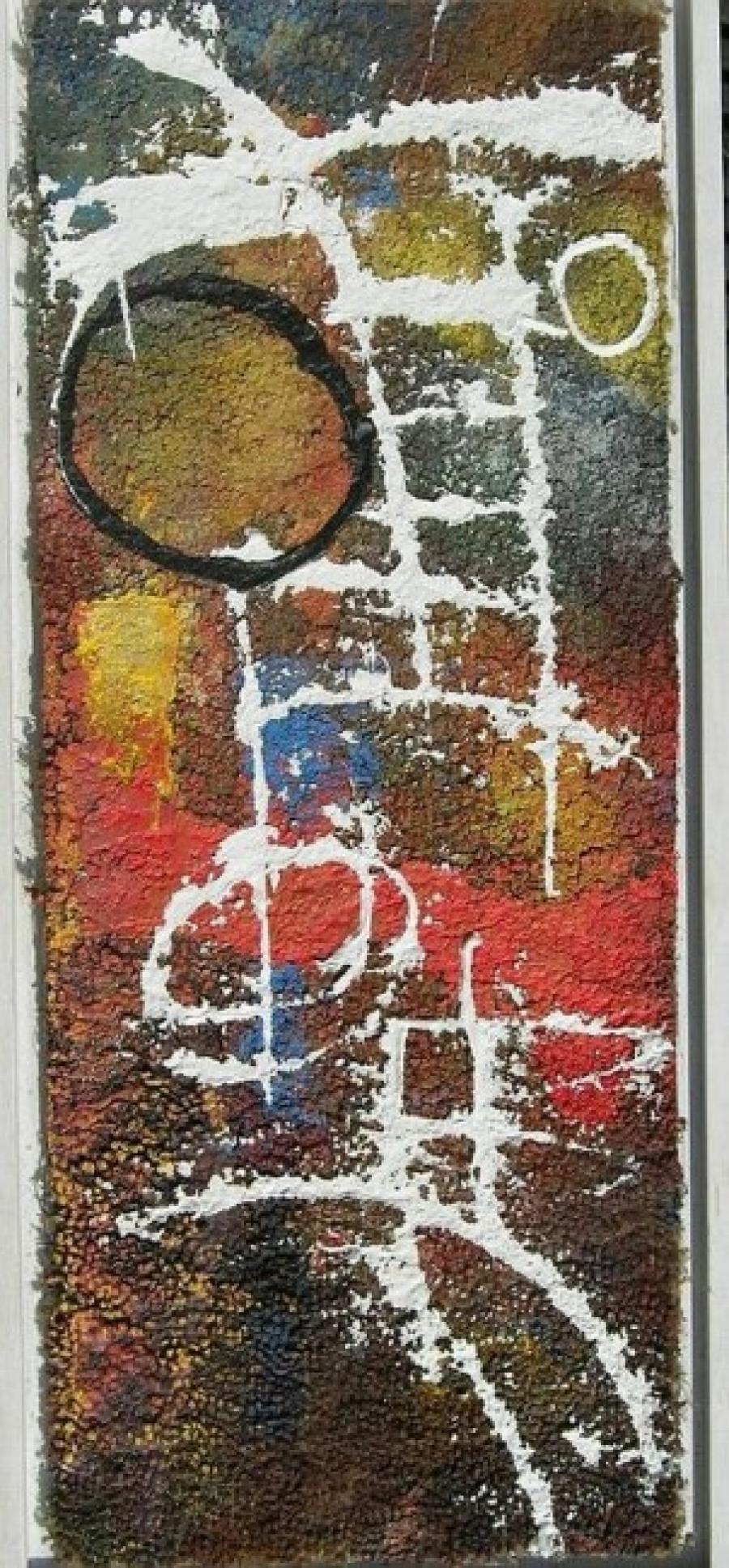 Kunst: paneel 10 van kunstenaar Koeno Jansen
