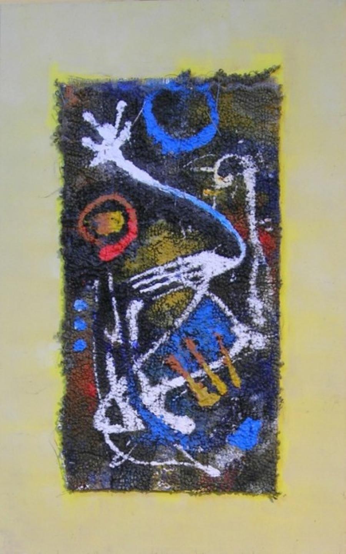 Kunst: paneel 6 van kunstenaar Koeno Jansen