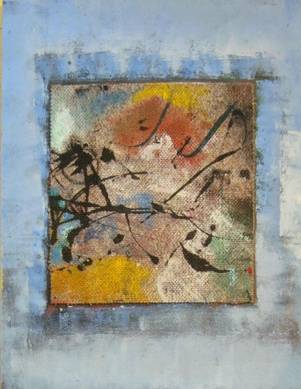 Kunst: paneel 7 van kunstenaar Koeno Jansen