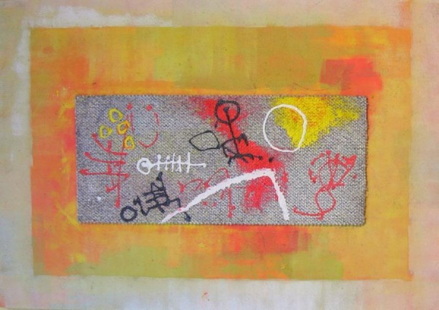 Kunst: paneel 8 van kunstenaar Koeno Jansen