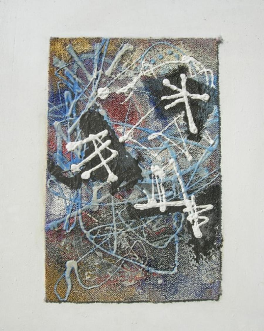Kunst: paneel 9 van kunstenaar Koeno Jansen