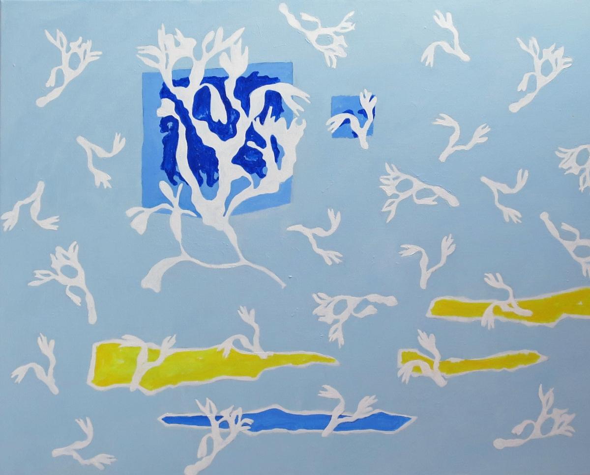 Kunst: PANTA RHEI VIII van kunstenaar Jef Huibers