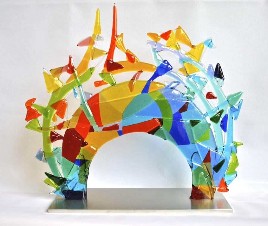 Kunst: Papillon van kunstenaar Angenelle Thijssen