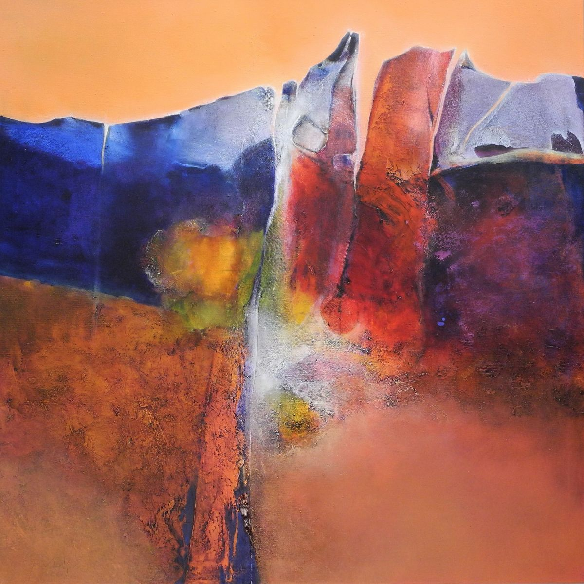 Kunst: Paysage passionat van kunstenaar Sietse Goverts