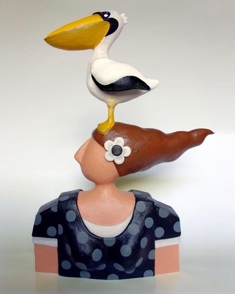 Kunst: Pelican dream van kunstenaar Yvonne Zomerdijk