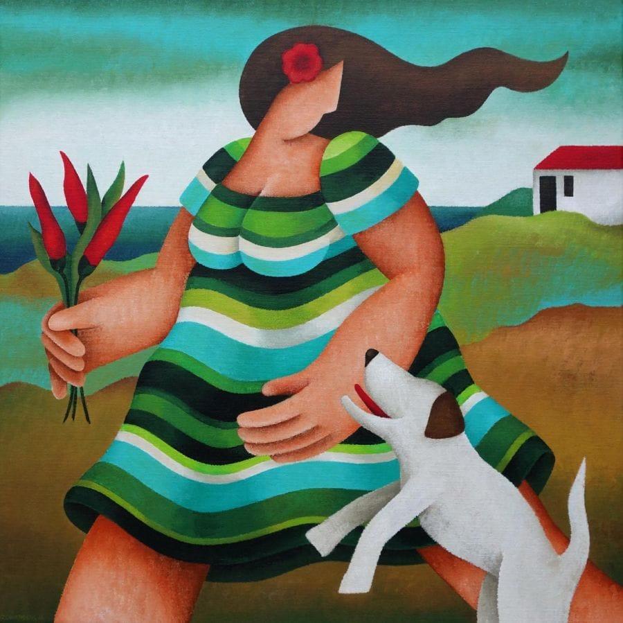 Kunst: Pepper van kunstenaar Yvonne Zomerdijk