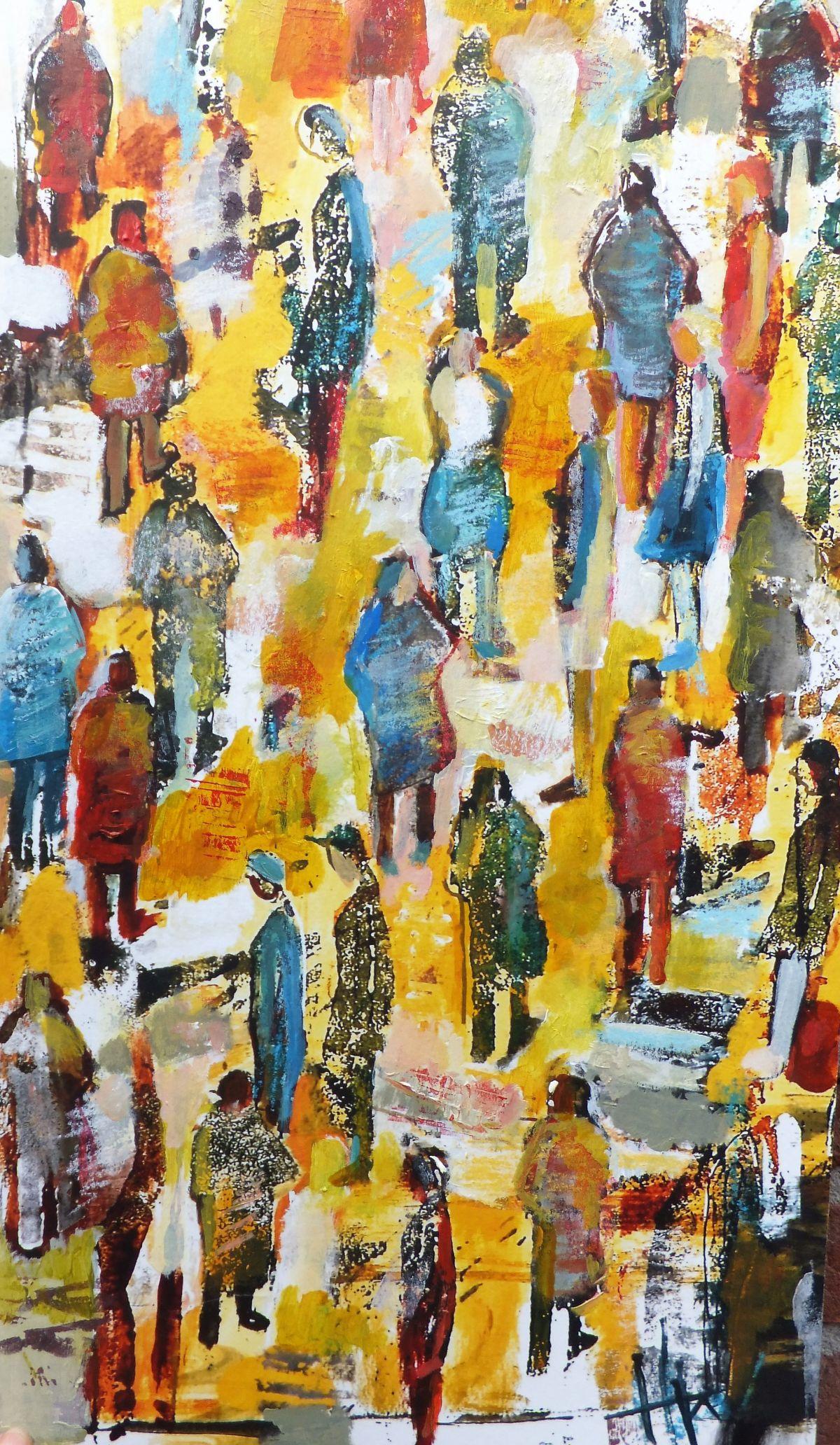 Kunst: plein van kunstenaar Heleen Wilke