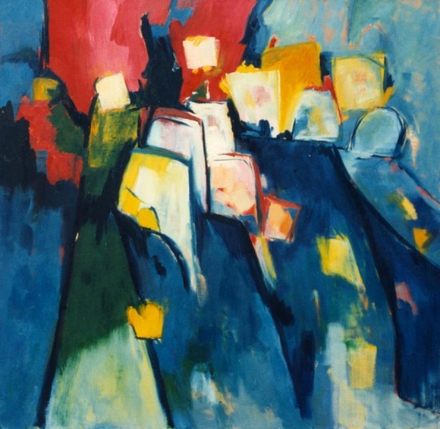 Kunst: Poblacion van kunstenaar Angenelle Thijssen