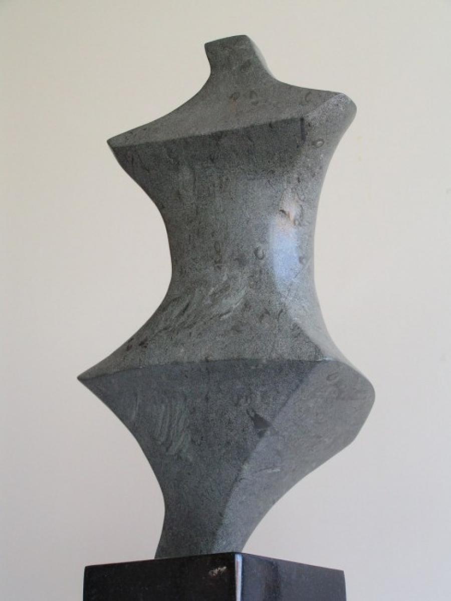 Kunst: Pointed Lady van kunstenaar Bert Verboon
