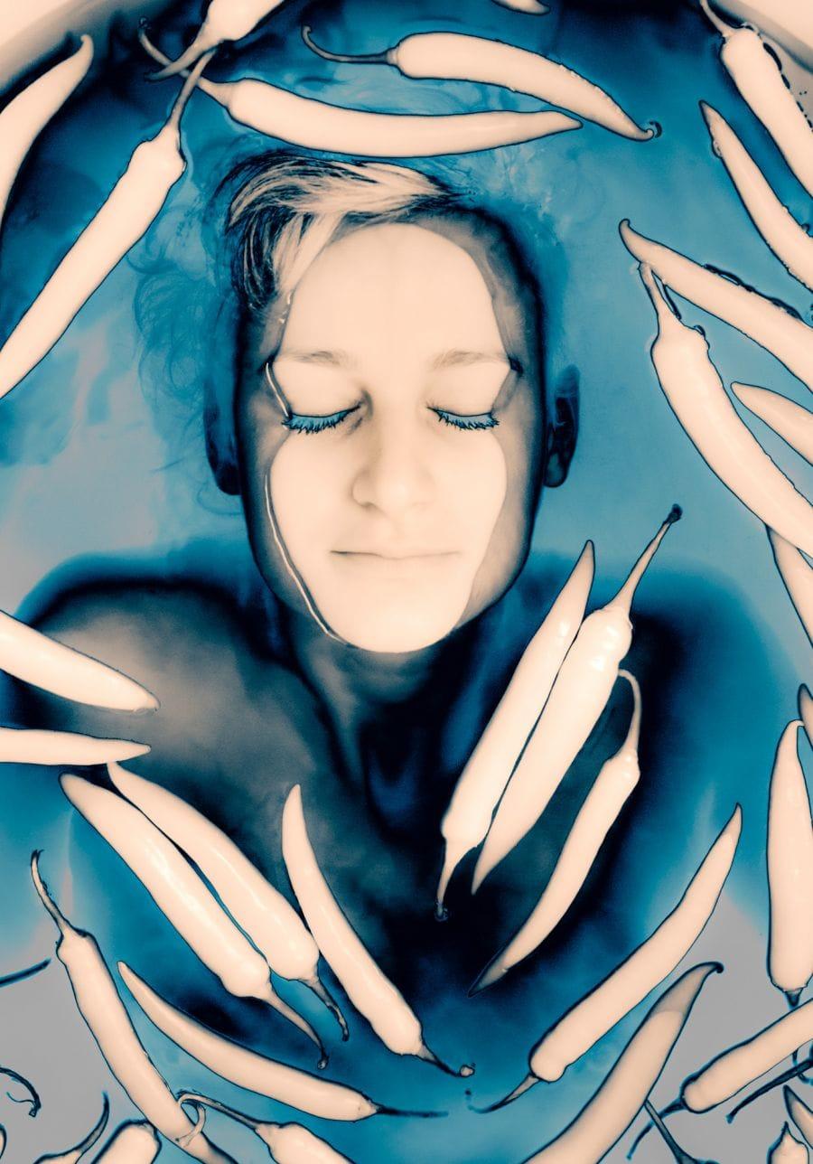Kunst: Poivron Infrarouge 2 van kunstenaar Barend Houtsmuller