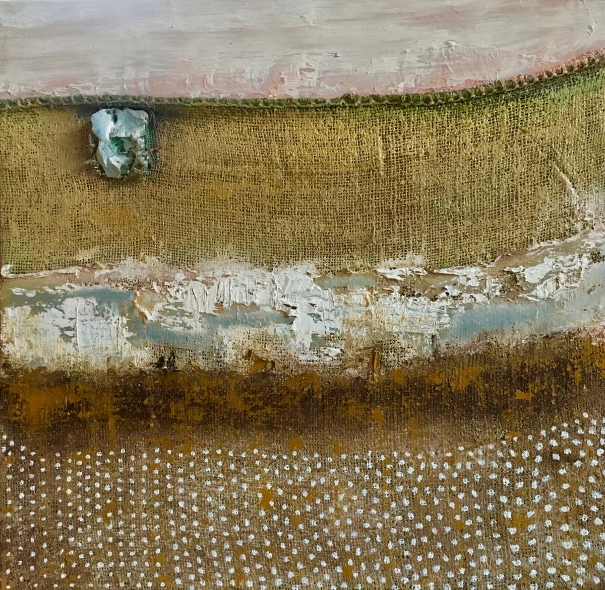 Kunst: Polderland III van kunstenaar Els Vegter