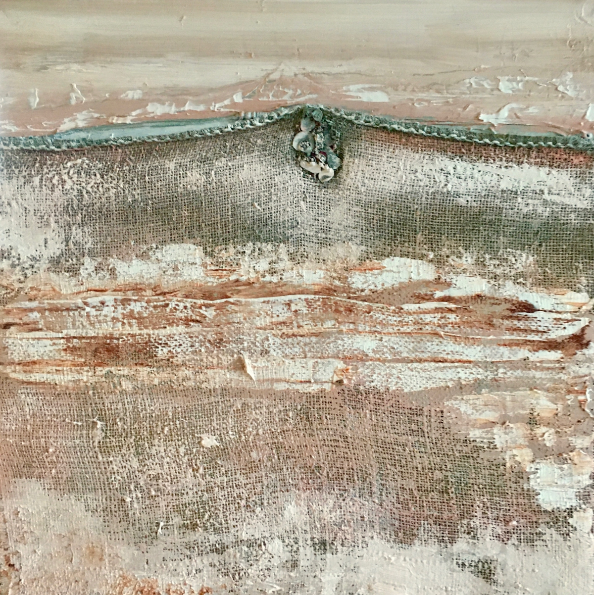 Kunst: Polderland IV van kunstenaar Els Vegter