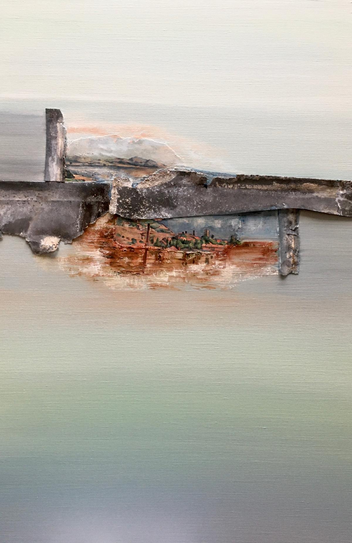 Kunst: Fragments of Cézanne van kunstenaar Els Vegter