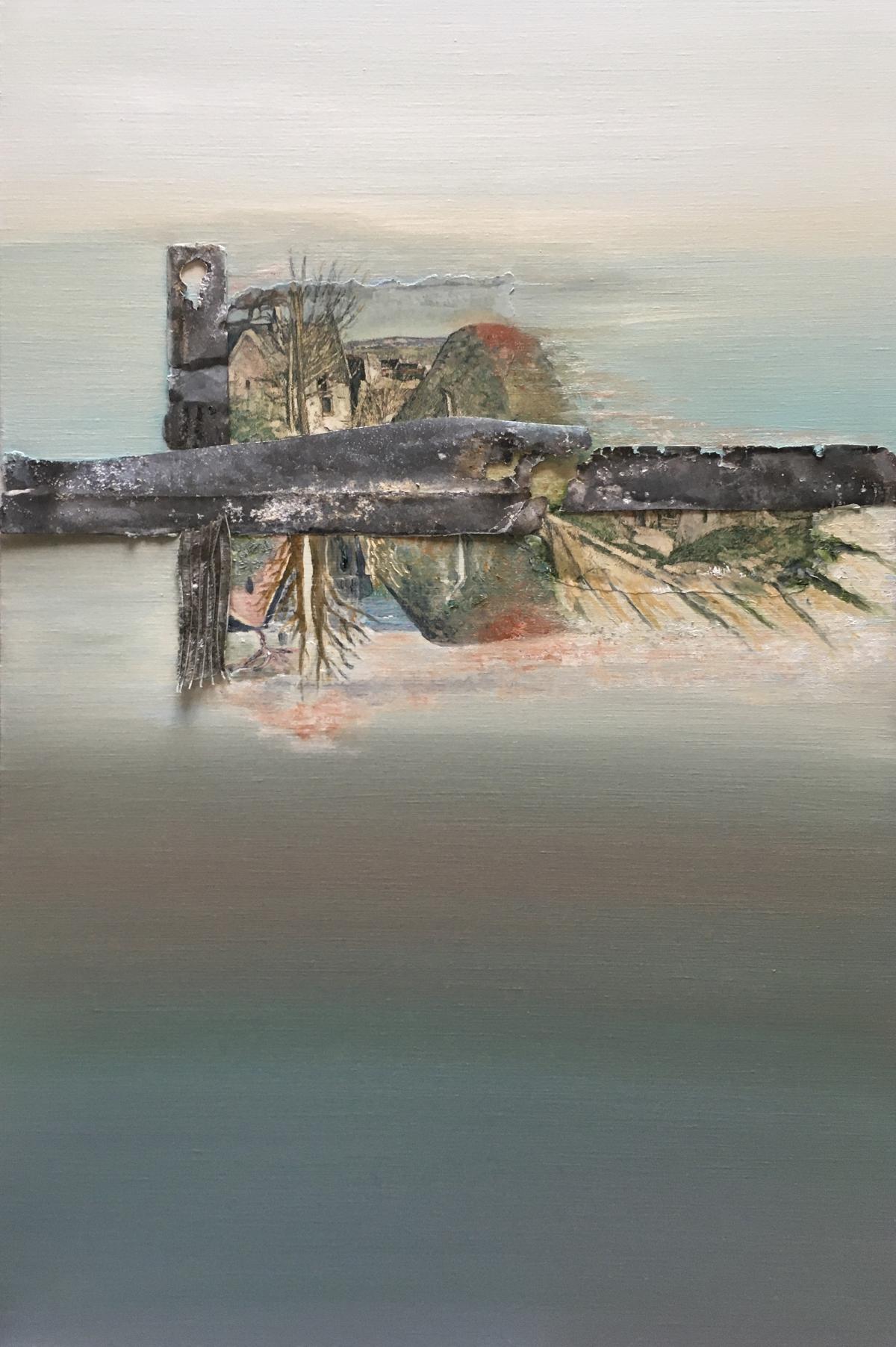 Kunst: Fragments of Cézanne II van kunstenaar Els Vegter
