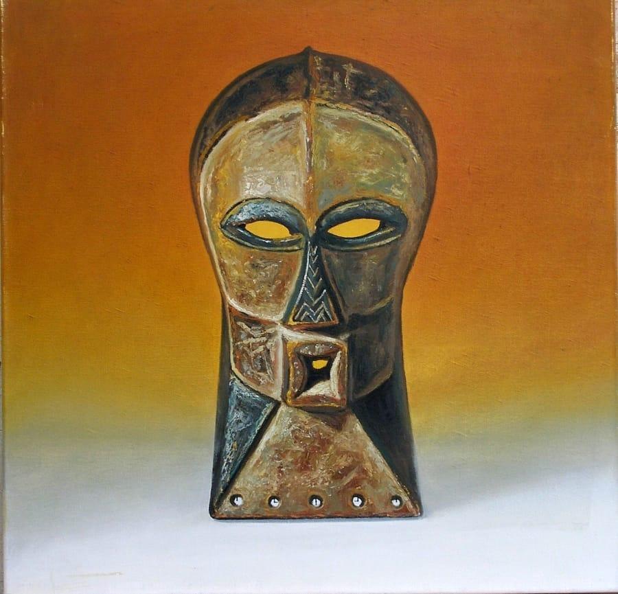 Kunst: primitieve kunst anno 92 van kunstenaar Leo Wijnhoven