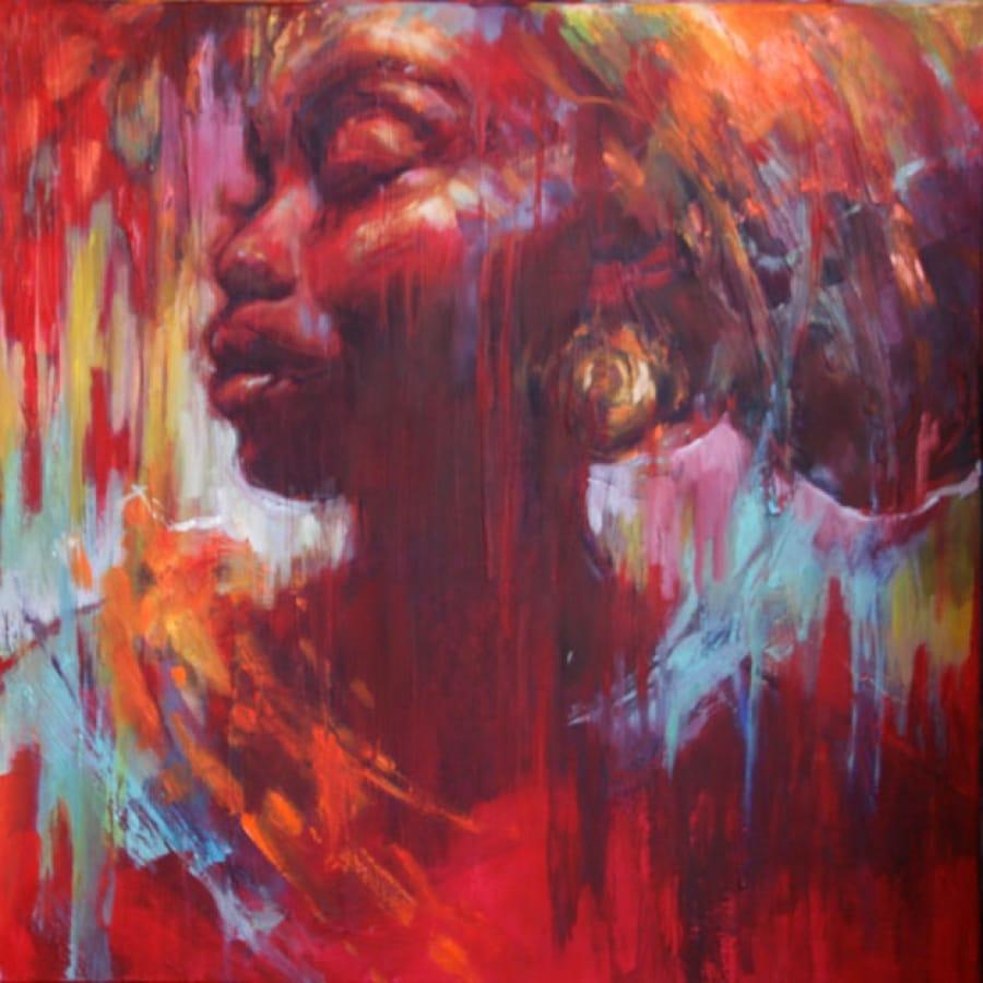 Kunst: Proud Azizi van kunstenaar Evelyn Hamilton