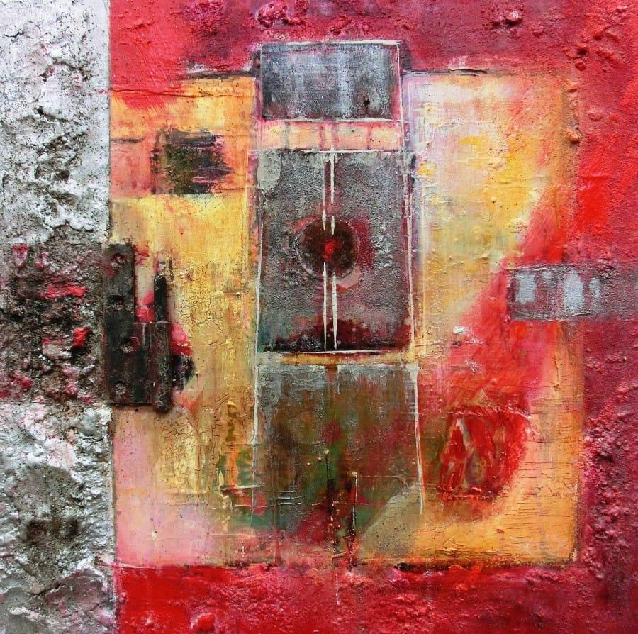 Kunst: Pure 1a van kunstenaar Toos van Poppel