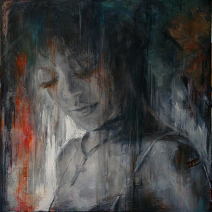 Kunst: Quiet Moment van kunstenaar Evelyn Hamilton