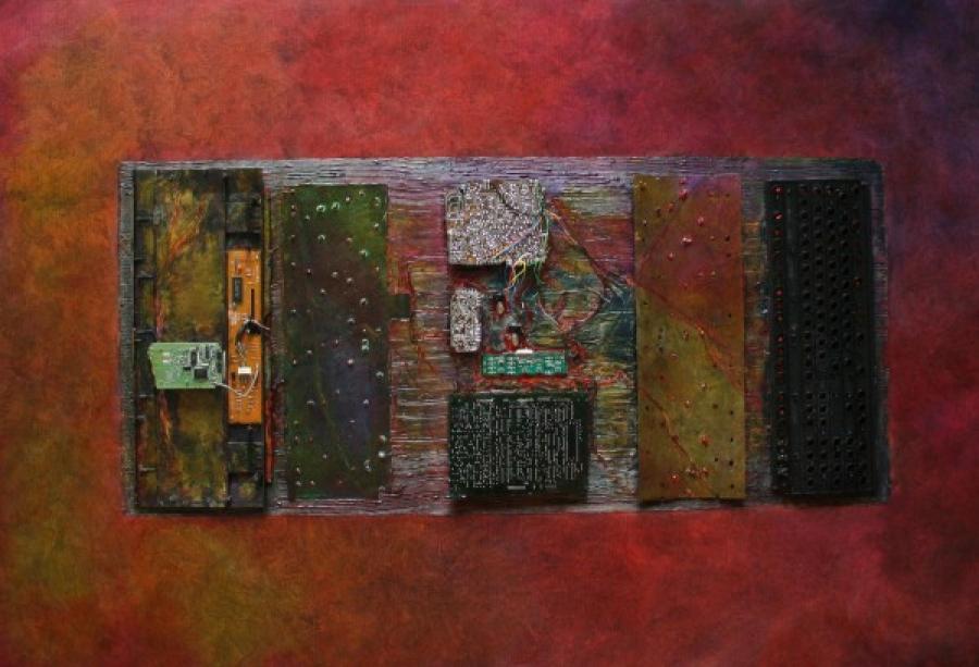 Kunst: QWERTY van kunstenaar Els Vegter