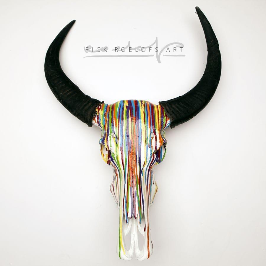 Kunst: RAINBOW van kunstenaar Rick Roelofs