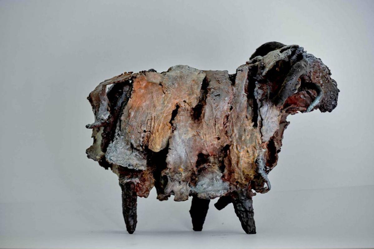 Kunst: Ram 14 van kunstenaar Edith Stoel