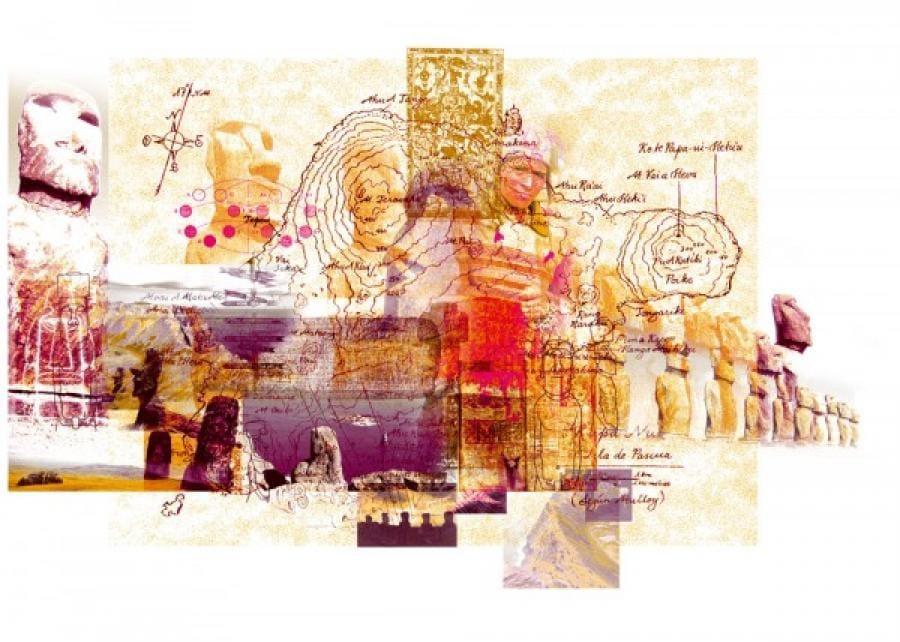 Kunst: Rapa Nui van kunstenaar Kim Heesakkers