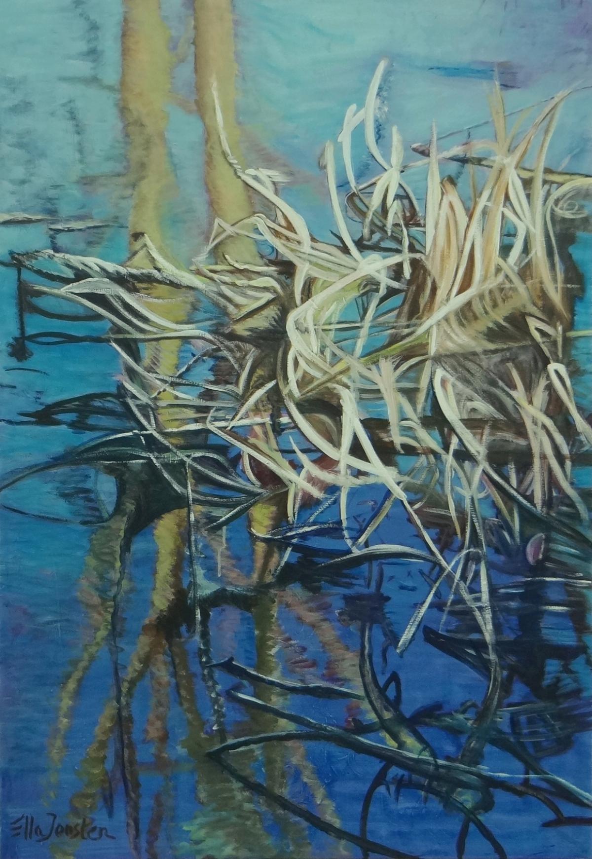 Kunst: Reflection 8 van kunstenaar Ella Joosten