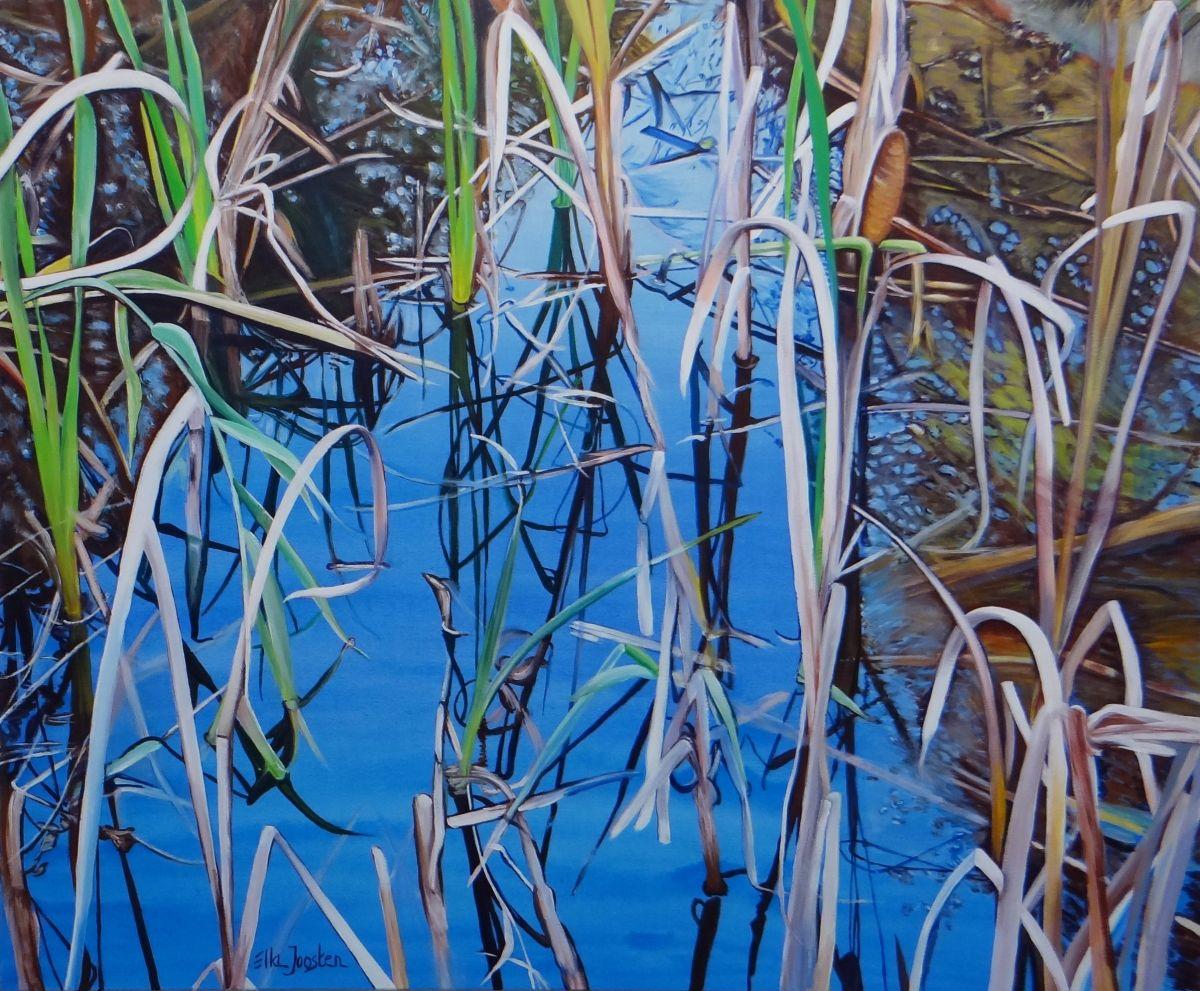 Kunst: Reflection Four van kunstenaar Ella Joosten