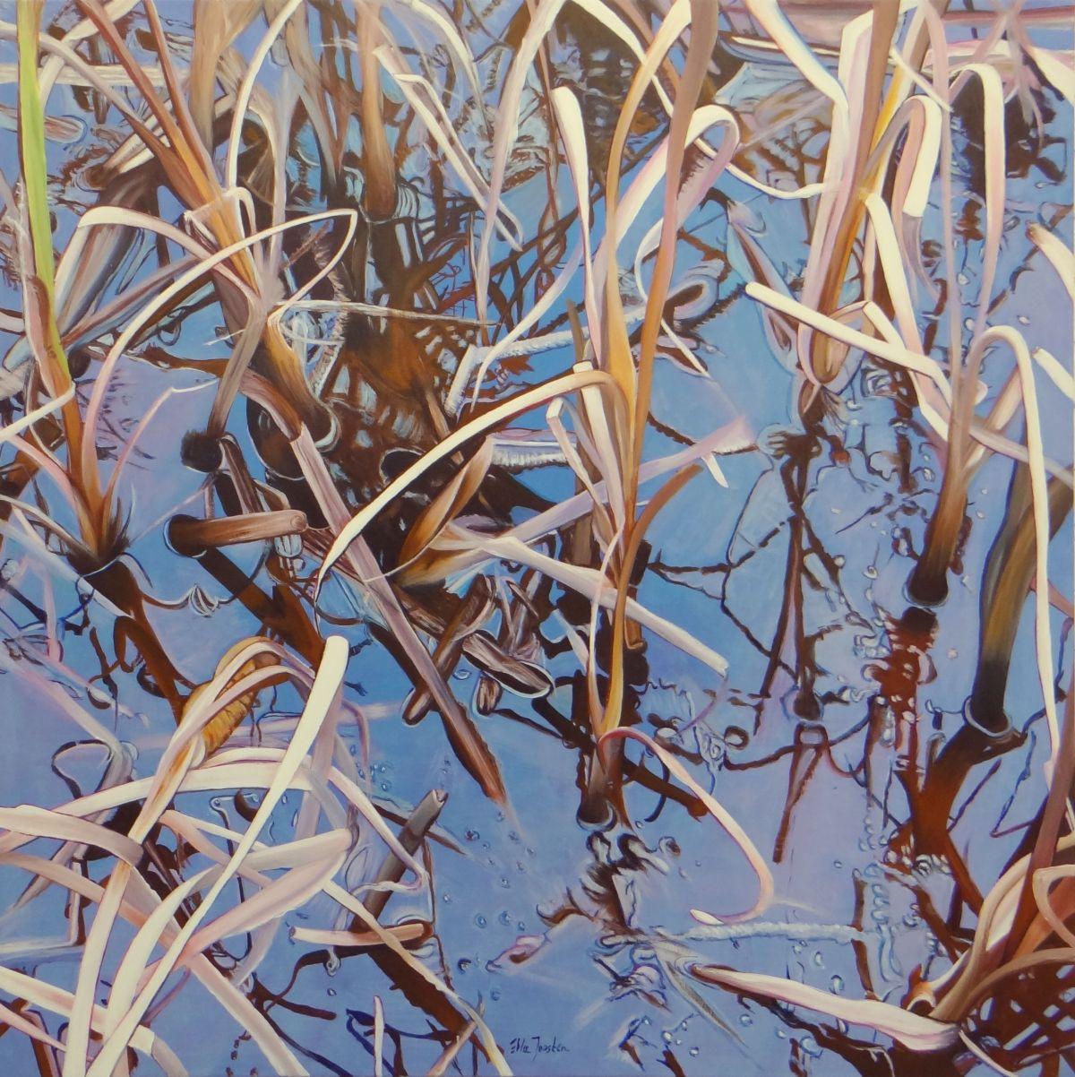 Kunst: Reflection One van kunstenaar Ella Joosten