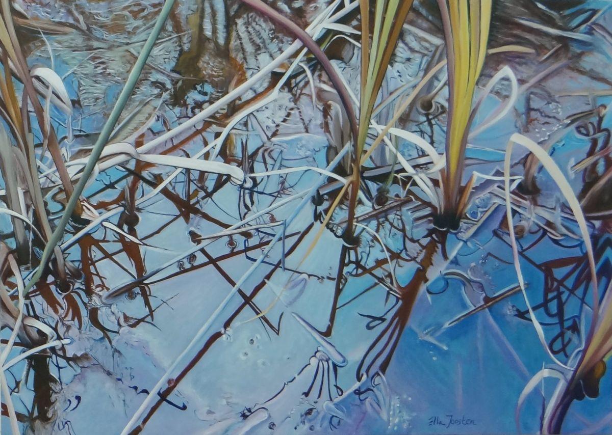 Kunst: Reflection Two van kunstenaar Ella Joosten