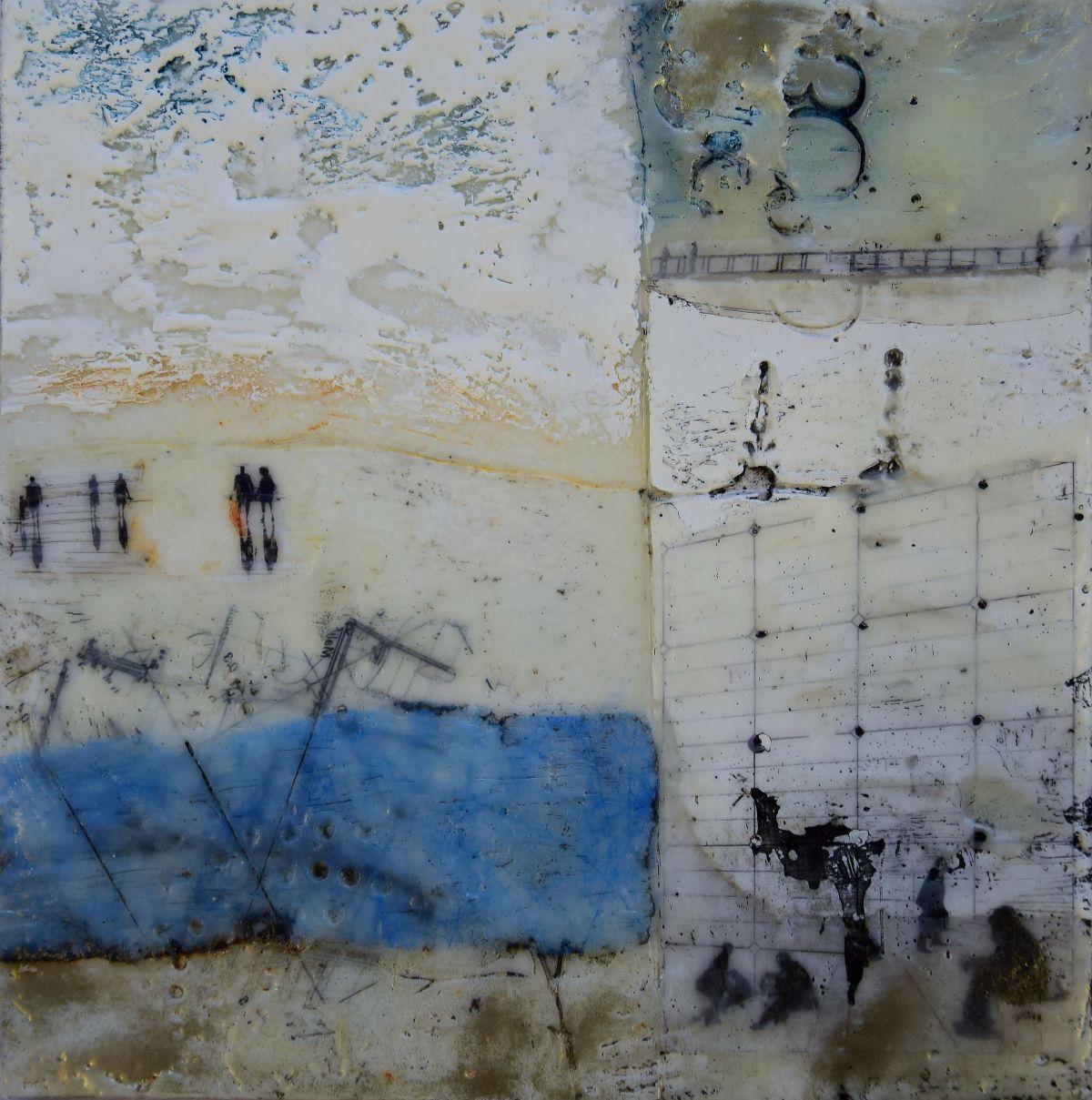 Kunst: Reisverhaal IV van kunstenaar Trijnie Mohlmann