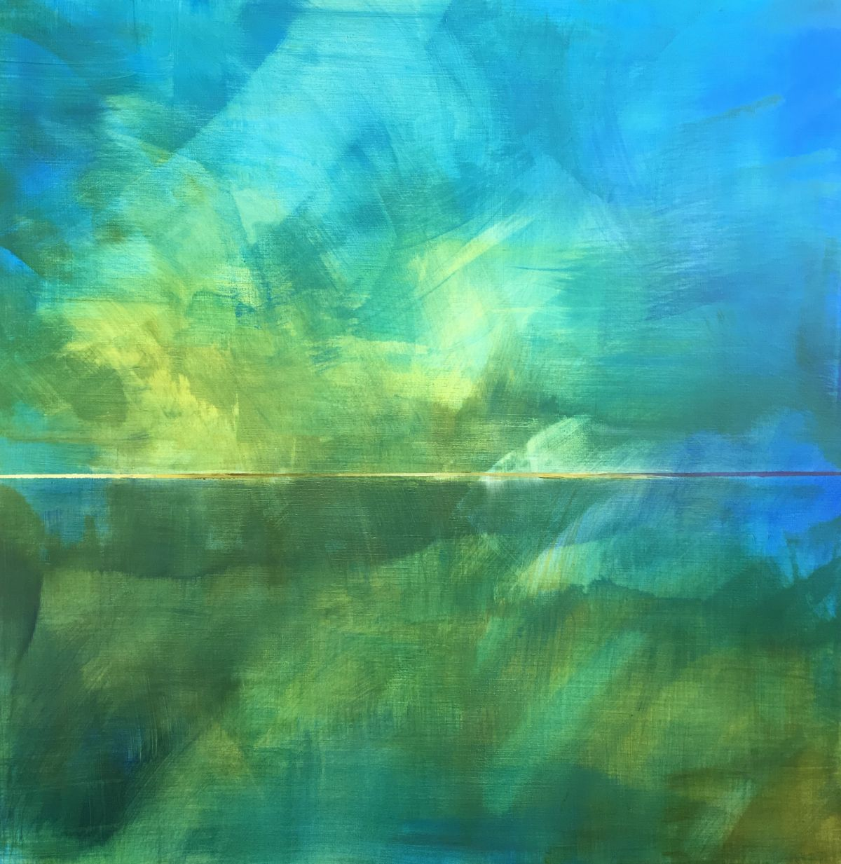 Kunst: reverie 4 van kunstenaar  Brighart