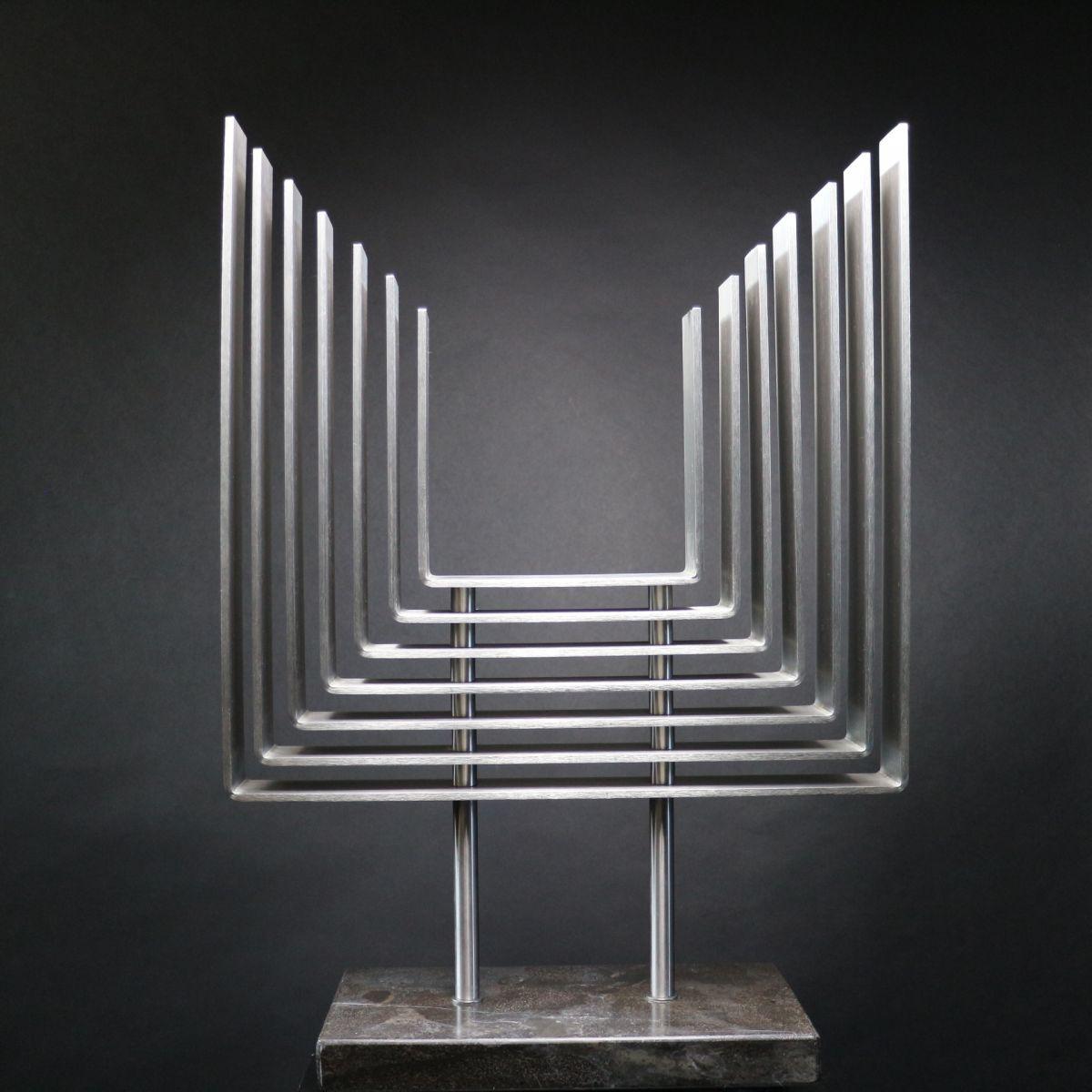 Kunst: Rhythm 1 van kunstenaar Bert Verboon