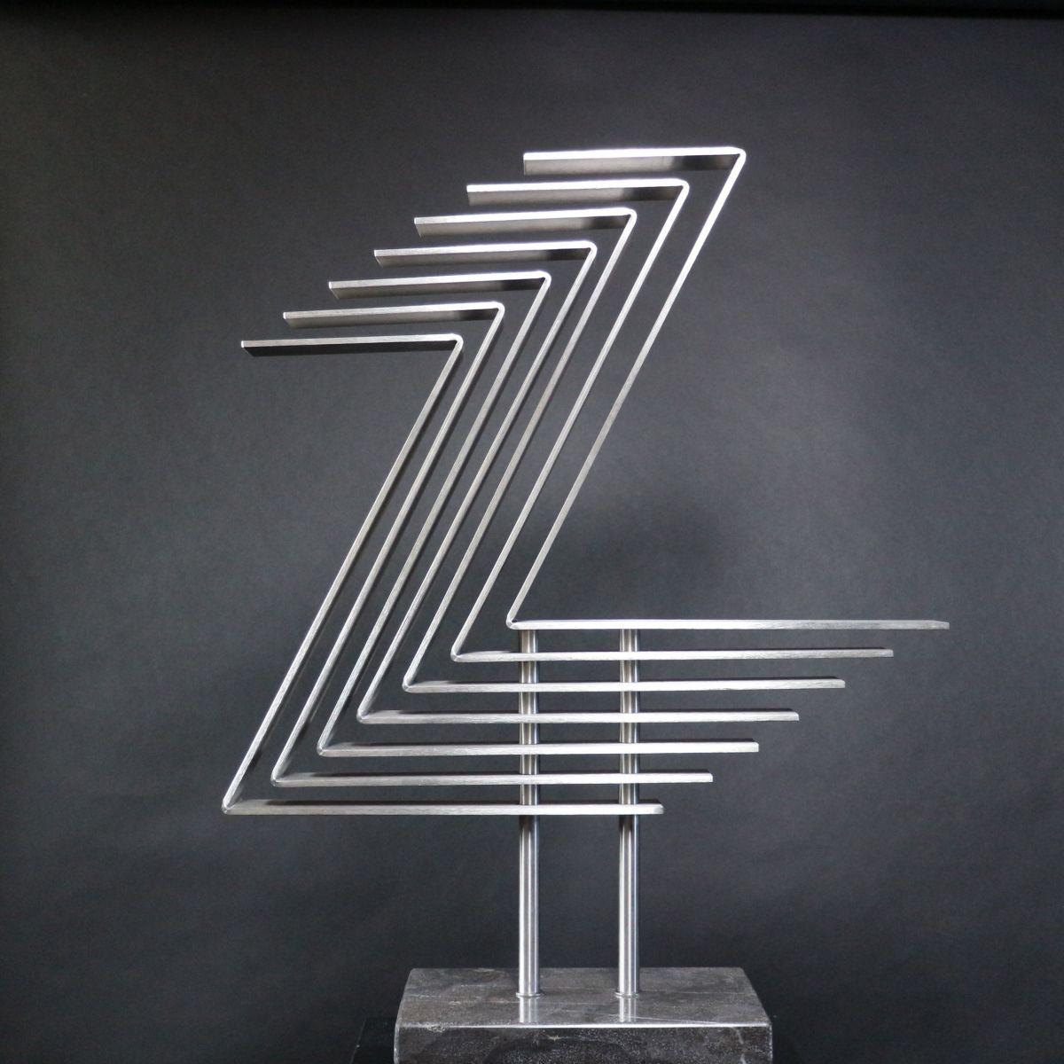 Kunst: Rhythm 2 van kunstenaar Bert Verboon