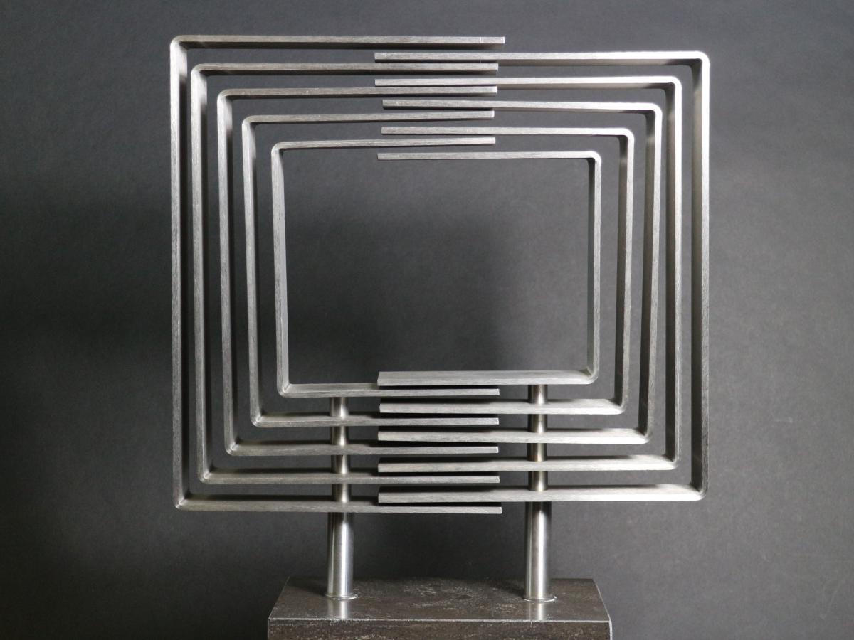 Kunst: Rhythm 4 van kunstenaar Bert Verboon